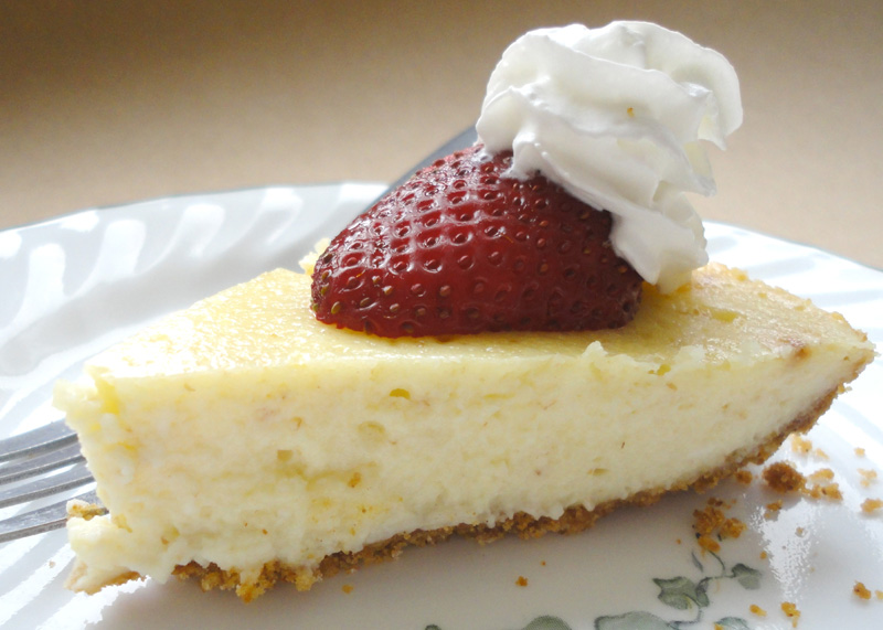 easy ginger cheesecake